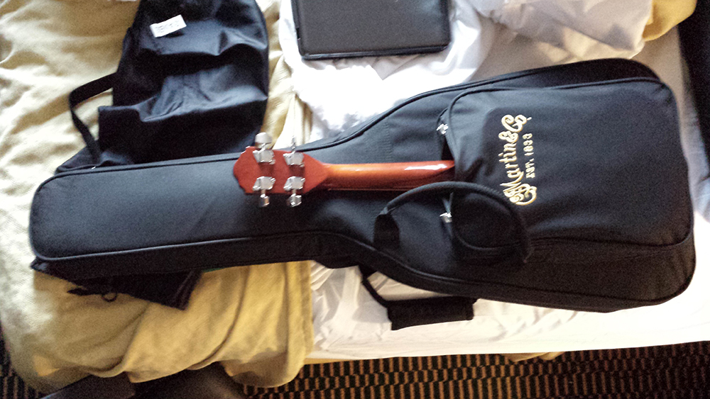 Martin LXM Travel Guitar With A Uke In The Front Pocket
