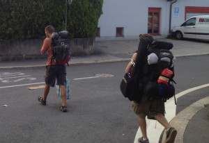 martin LXM little martin travel guitar Switzerland europe backpacking